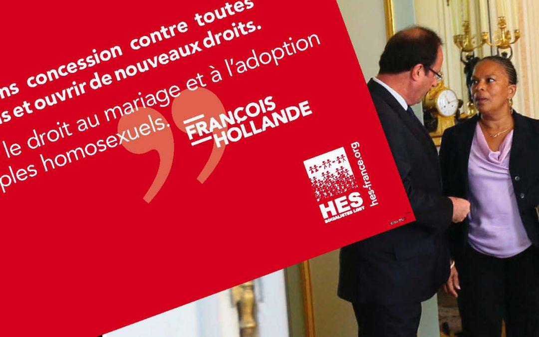 Mi-bilan pour la mi-mandat : l'ouverture du mariage et de l'adoption, une réforme populaire!