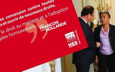 Mi-bilan pour la mi-mandat: l'ouverture du mariage et de l'adoption, une réforme populaire!