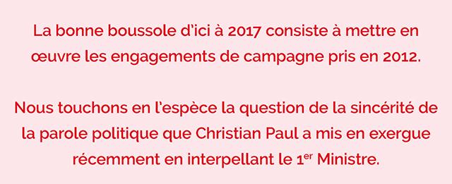 Congrès de Poitiers | tribune de la motion B