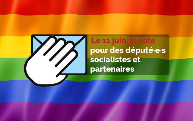 Le 11 juin, votons pour des député·e·s socialistes qui défendront nos valeurs!