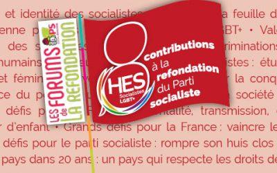 Les contributions d'HES aux Forums de la refondation du Parti socialiste