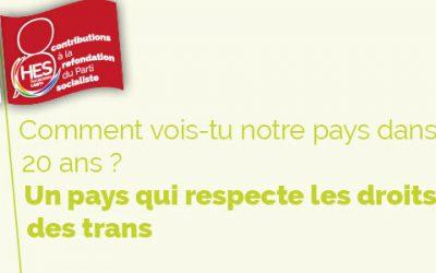 La France dans 20 ans : un pays qui respecte les droits destrans