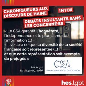 Vosuel contre les discours de haine - HES LGBTI