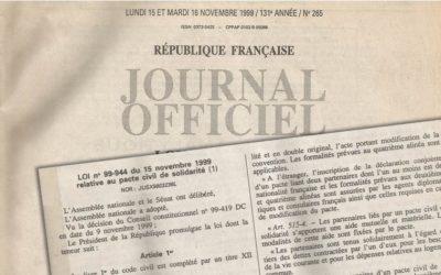 Le Pacs a 20 ans : une (r)évolution du droit pour tou·tes!