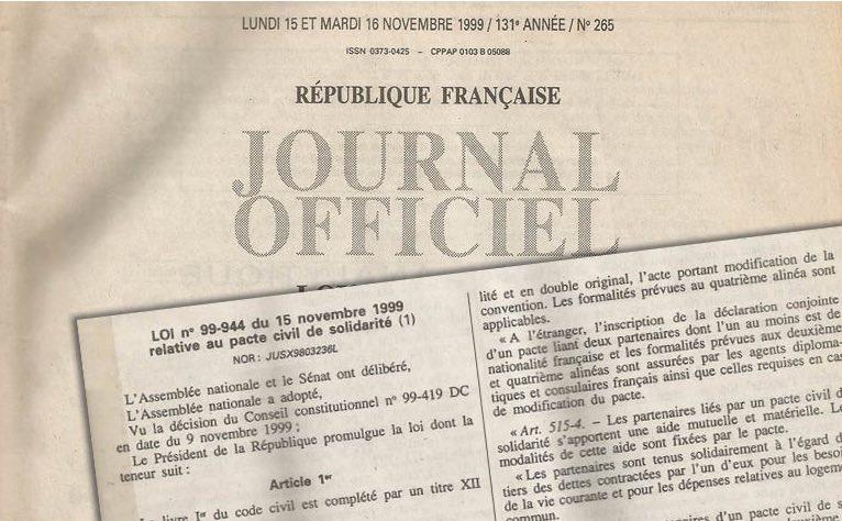 Le Pacs a 20 ans : une ®évolution du droit pour tou·tes!