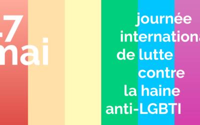 Pour le 17 mai, intégrer politiquement les combats LGBTI+ pour enfin reprendre le chemin de l'égalité