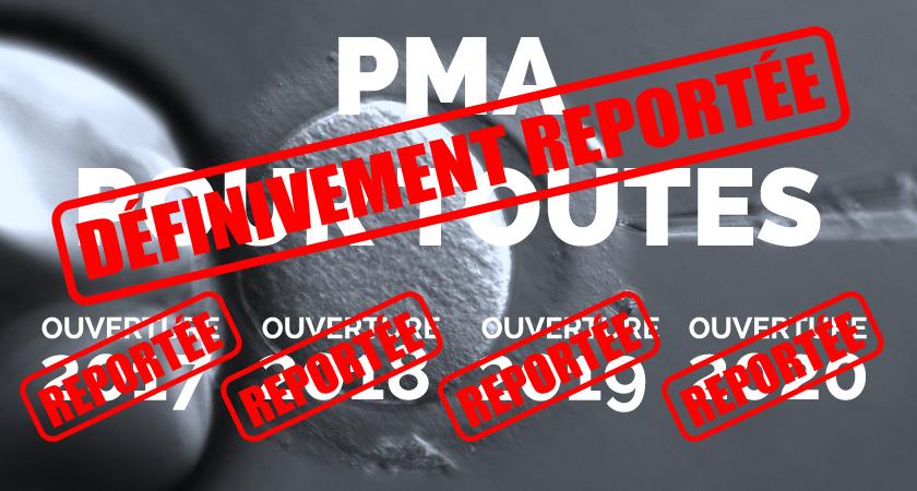 La PMA reportée, épisode 21, et bientôt aux oubliettes de la maison Macron!