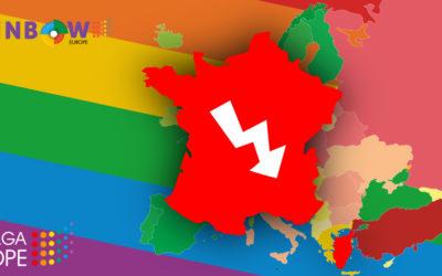 Chute inédite et dramatique de la France au classement ILGA Europe : les LGBTI n'existent pas vraiment pour ce gouvernement et Macron