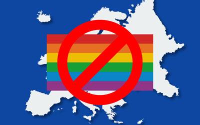 Contre les droits des personnes LGBTI en UE, des attaques variées et des inquiétudes sur l'absence de réaction de l'exécutif…