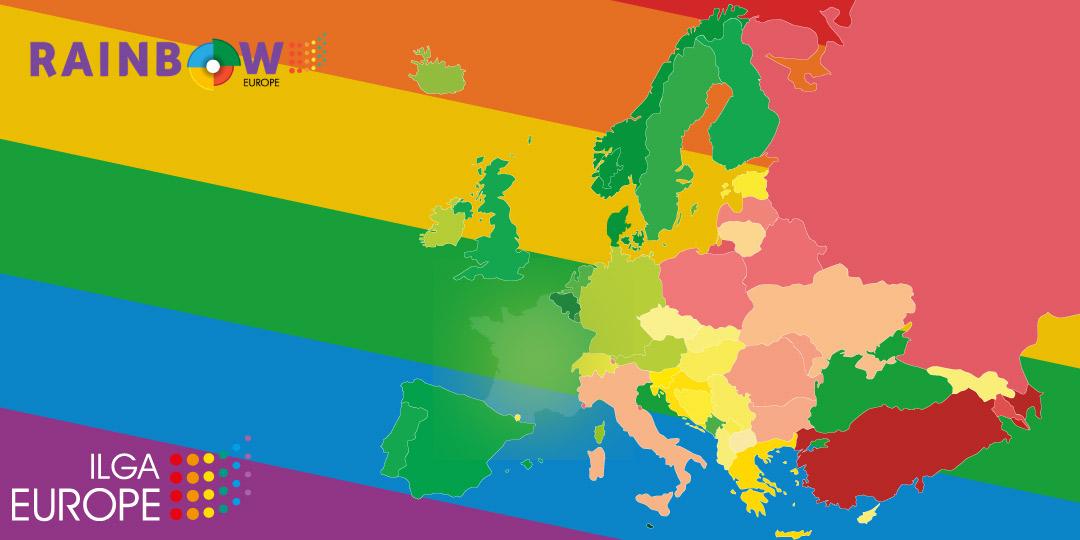 Stagnation des droits LGBTI en France : le classement ILGA Europe 2021, encore derrière le bilan de2017!